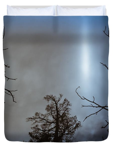 Tree Flash Duvet Cover by Scott Sawyer