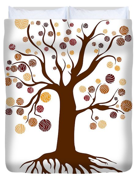 Tree Duvet Cover by Frank Tschakert