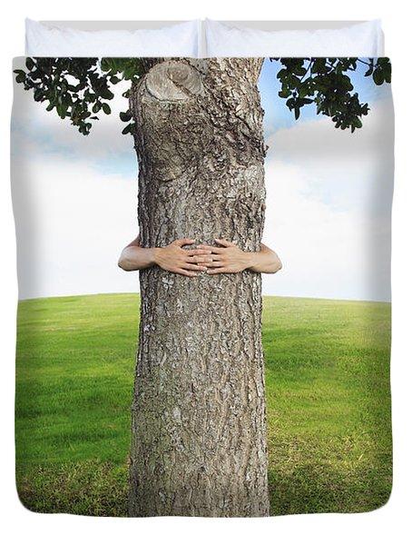 Tree Hugger 3 Duvet Cover by Brandon Tabiolo - Printscapes