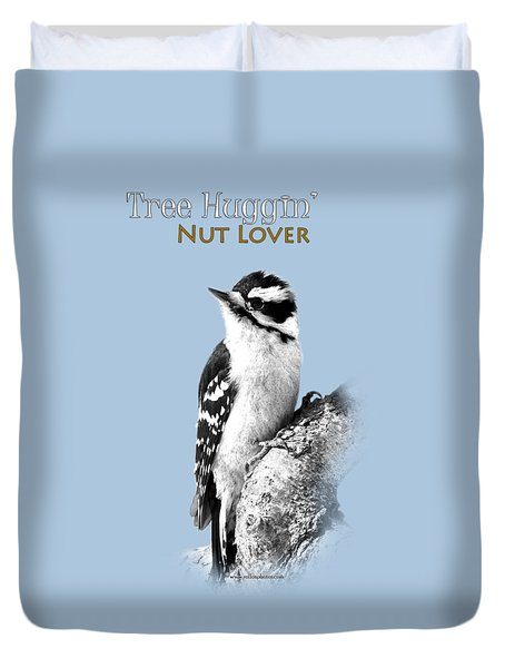 Tree Huggin' Nut Lover Duvet Cover by Christina Rollo