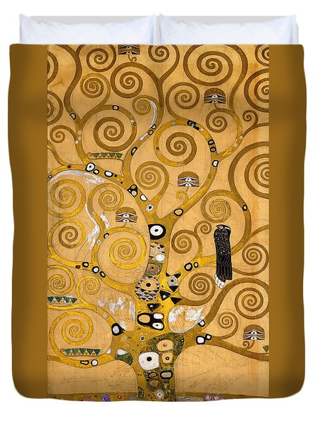 Tree Of Life Duvet Cover by Gustav Klimt