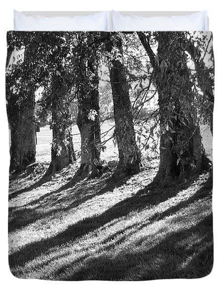 Treeline Duvet Cover by Amy Tyler
