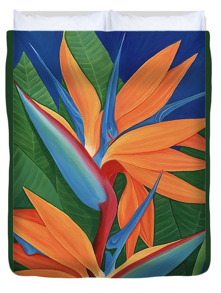 Tropical Paradise Duvet Cover by Lisa Bentley