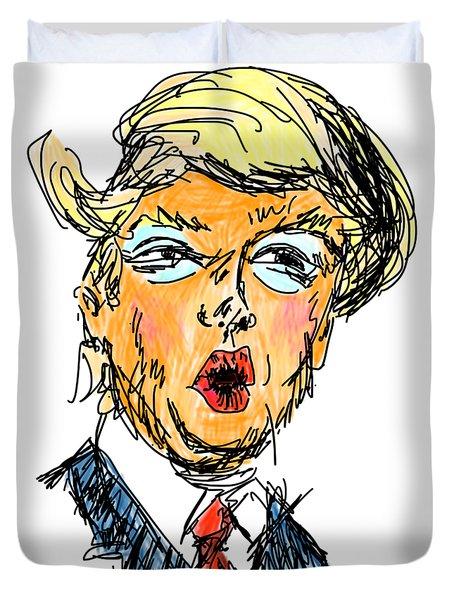 Trump Duvet Cover by Robert Yaeger