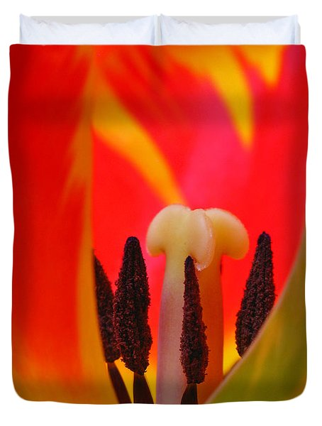 Tulip Intimate Duvet Cover by Juergen Roth
