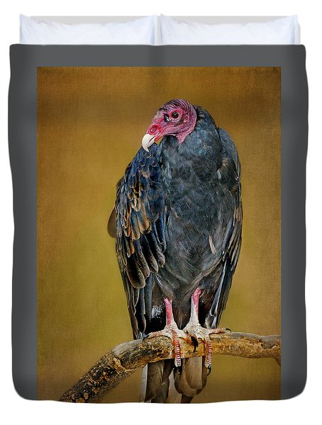 Turkey Vulture Duvet Cover by Nikolyn McDonald