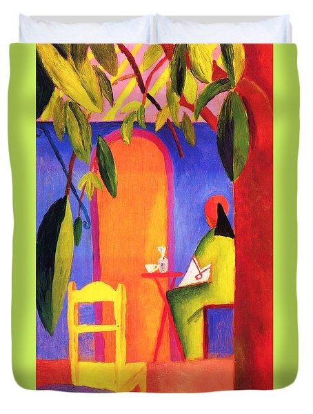 Turkish Cafe II Duvet Cover by Pg Reproductions