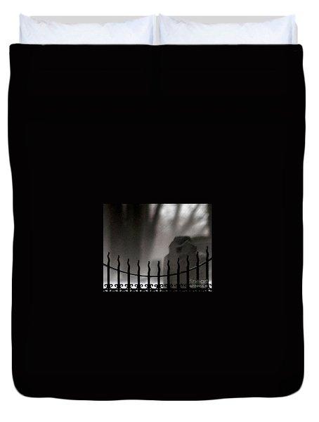Twilight Beyond Grace Duvet Cover by Linda Shafer
