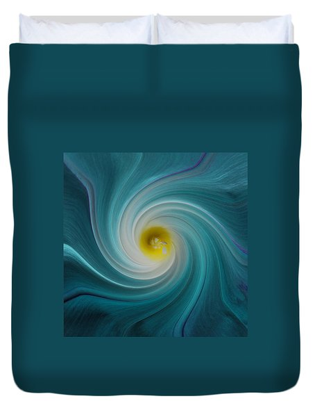 Twisted Glory Duvet Cover by Michael Peychich