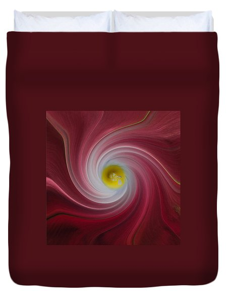 Twisted Glory Two Duvet Cover by Michael Peychich