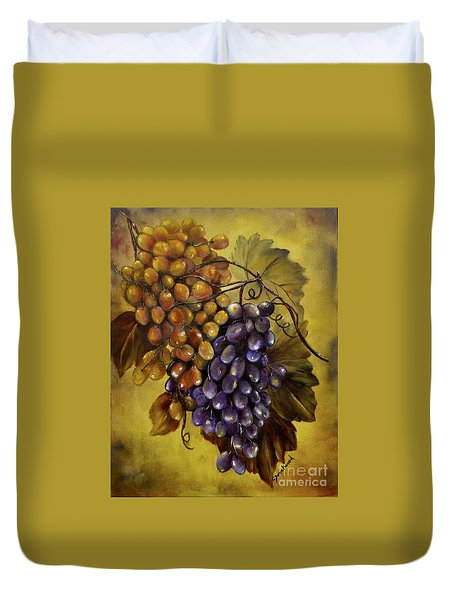 Two choices Duvet Cover by Carol Sweetwood