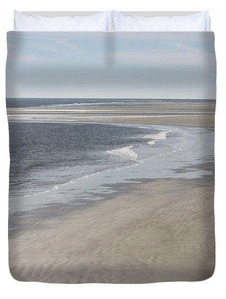 Tybee Island Beach Duvet Cover by Carol Groenen