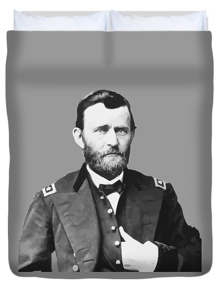 Ulysses S Grant Duvet Cover by War Is Hell Store