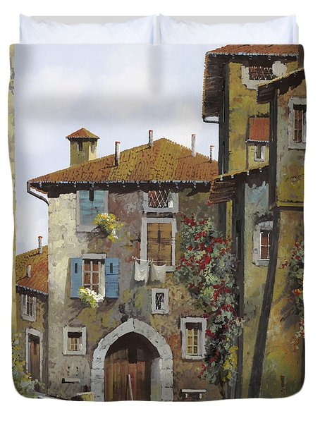 Umbria Duvet Cover by Guido Borelli