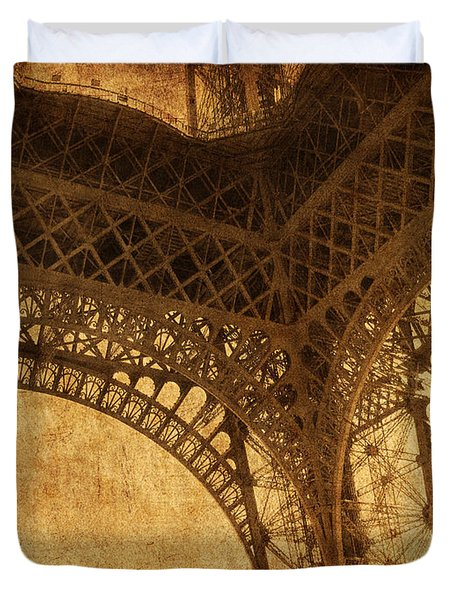 Under Tower Duvet Cover by Andrew Paranavitana