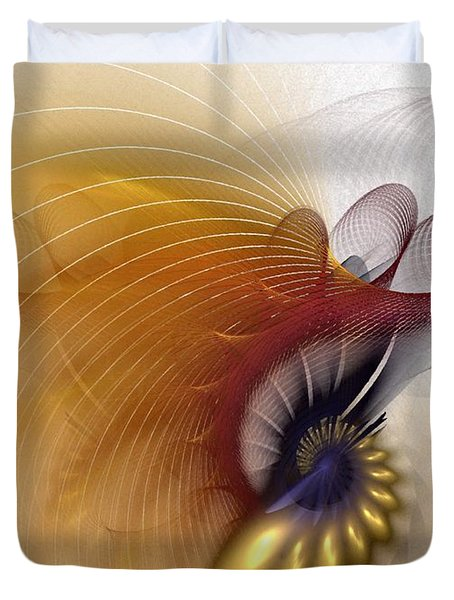 Untitled Study No.601 Duvet Cover by NirvanaBlues