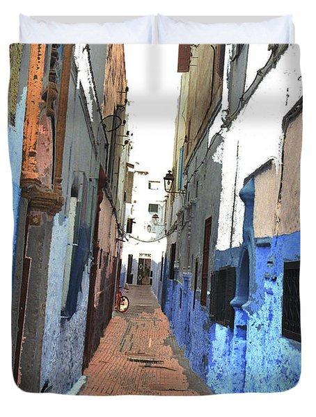 Urban Scene  Duvet Cover by Hana Shalom