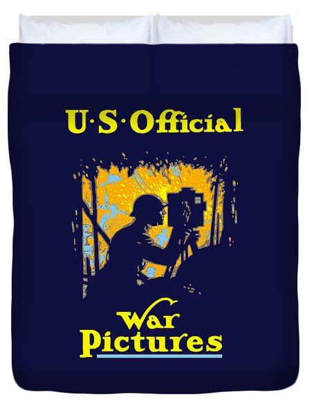 U.s. Official War Pictures Duvet Cover by War Is Hell Store