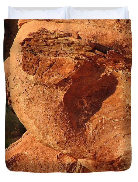 Valley Of Fire - Nevada's Crown Jewel Duvet Cover by Christine Till