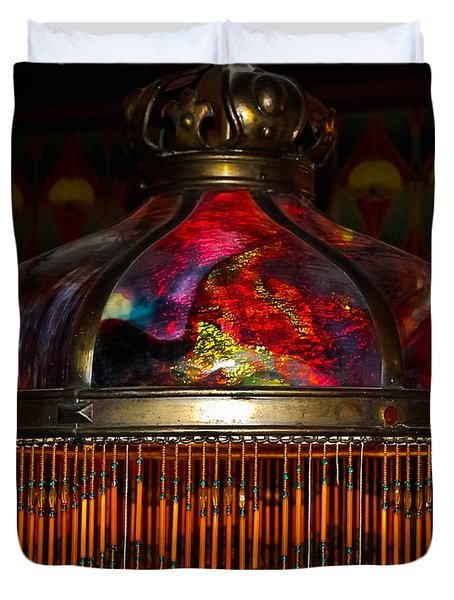 Variegated Antiquity Duvet Cover by DigiArt Diaries by Vicky B Fuller