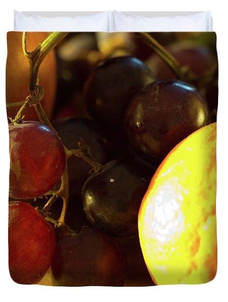 Various Fruit Duvet Cover by Brian Roscorla
