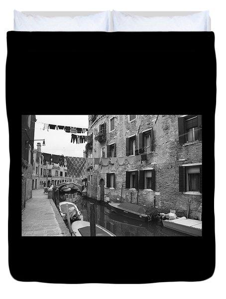 Venice Duvet Cover by Frank Tschakert
