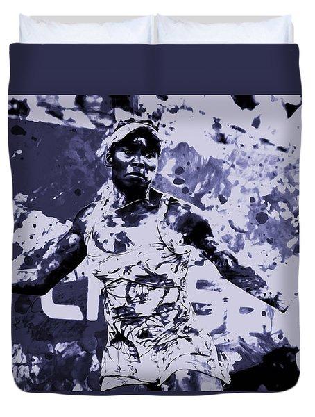 Venus Williams Stay Focused Duvet Cover by Brian Reaves