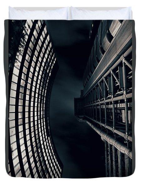 Vertigo I Duvet Cover by Jasna Buncic