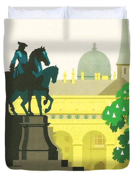 Vienna Duvet Cover by Nomad Art And  Design