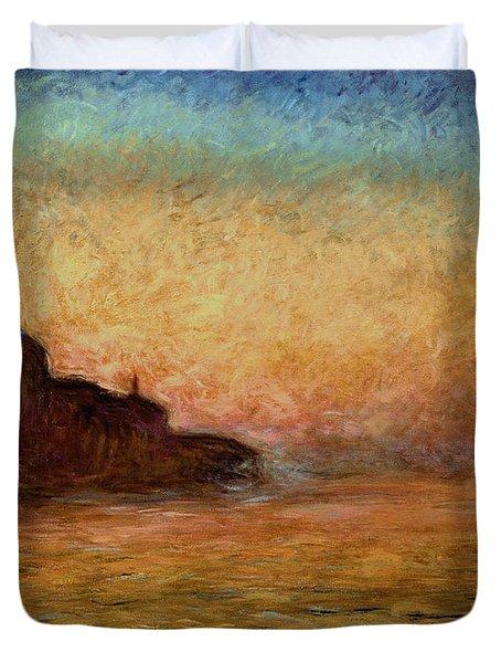 View Of San Giorgio Maggiore Duvet Cover by Claude Monet