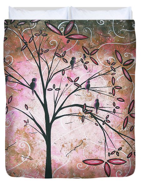 Vintage Couture By Madart Duvet Cover by Megan Duncanson
