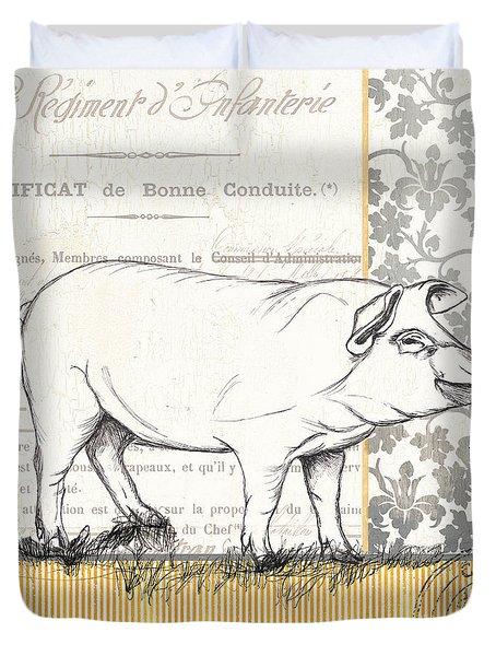 Vintage Farm 2 Duvet Cover by Debbie DeWitt