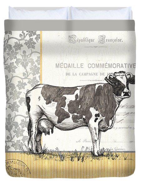 Vintage Farm 4 Duvet Cover by Debbie DeWitt