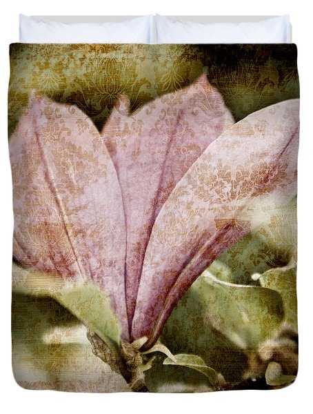 Vintage Magnolia Duvet Cover by Frank Tschakert