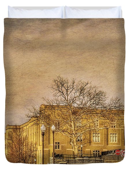 Virginia Military Institute Duvet Cover by Todd Hostetter