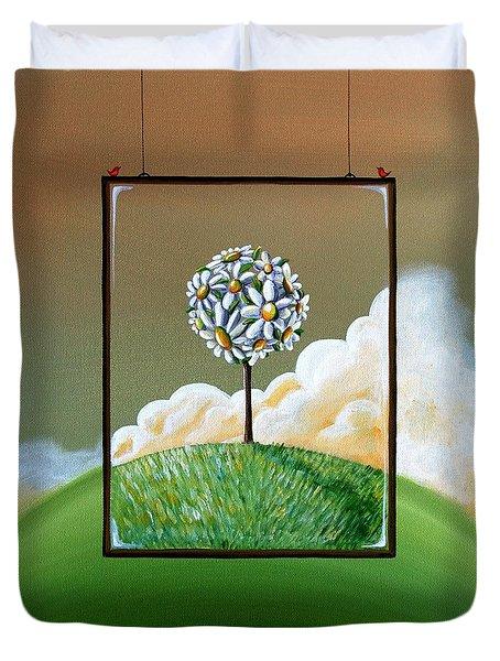 Virtue Duvet Cover by Cindy Thornton