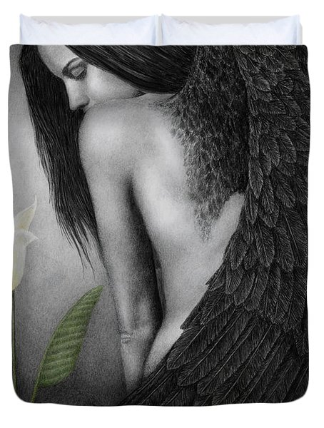 Visible Darkness Duvet Cover by Pat Erickson