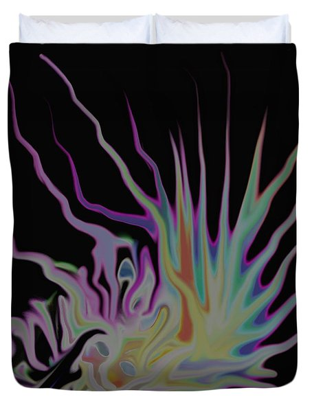 Visionary Duvet Cover by Gina Lee Manley
