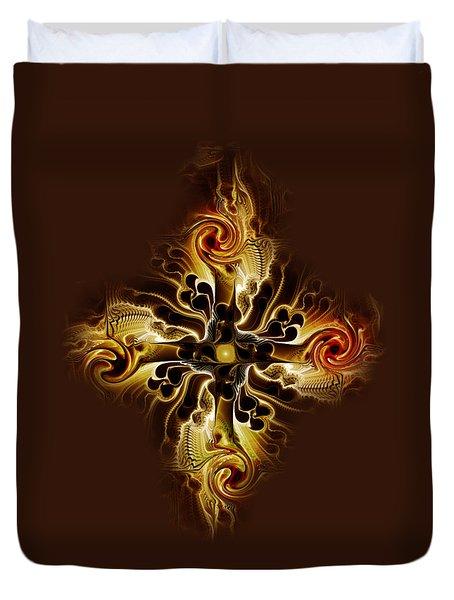 Vital Cross Duvet Cover by Anastasiya Malakhova