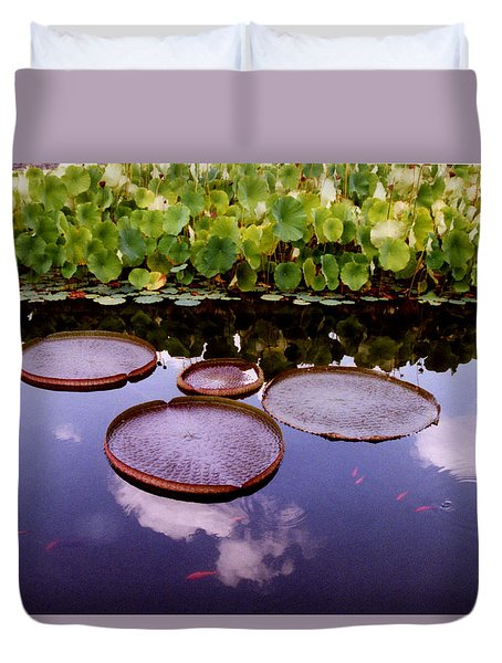 Voices In The Sky Duvet Cover by Jan Amiss Photography