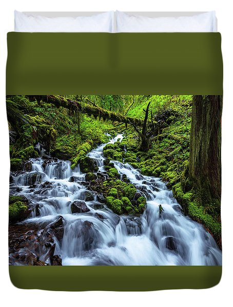 Wahkeena Duvet Cover by Chad Dutson