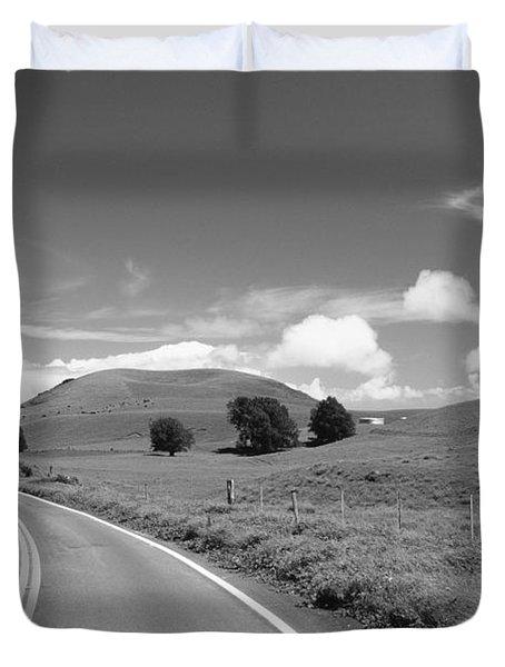 Waimea Ranchland Duvet Cover by Bob Abraham - Printscapes
