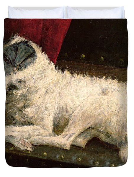 Waiting For Master Duvet Cover by George Paice