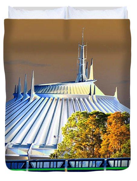Walts Modern Vision Duvet Cover by David Lee Thompson