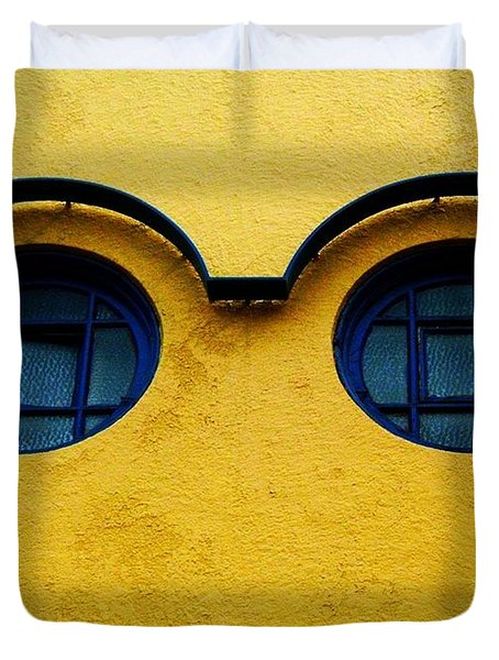 Watching You ... Duvet Cover by Juergen Weiss