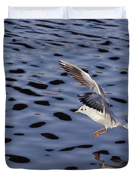 Water Alighting Duvet Cover by Michal Boubin