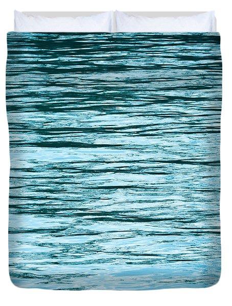 Water Flow Duvet Cover by Steve Gadomski