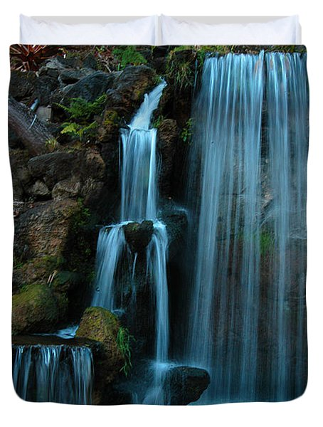Waterfalls Duvet Cover by Clayton Bruster