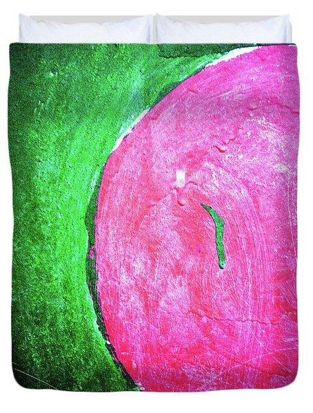 Watermelon Duvet Cover by Inessa Burlak
