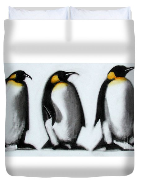 We Three Kings Duvet Cover by Paul Powis